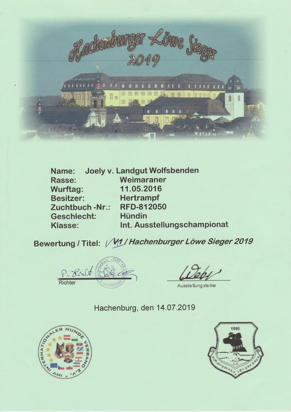 Joely2019 Hachenburger Löwe